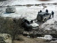 Ավտովթար Երևան-Մեղրի ճանապարհին.  կին վարորդը մահացել է