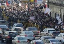 Մոսկվայում ընդիմադիրները ցույց են անում