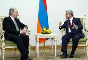 Նախագահը ընդունել է Բելառուսի ԱԳ նախարար Սերգեյ Մարտինովին