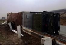 ՊՆ մեքենան շրջվել է.Պայմանագրային զինծառայողը հիվանդանոցի ճանապարհին մահացել է