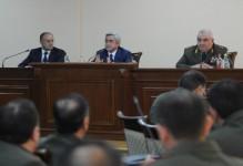 Հարկ է խստացնել մարտական հերթապահությունը հայ-ադրբեջանական զորքերի շփման գծում