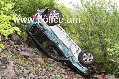 Մեքենան ընկել է գետը. վարորդը մահացել է