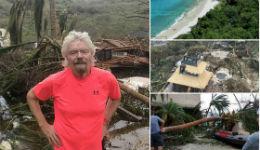 Միլիարդատեր Ռիչարդ Բրենսոնը ցույց է տվել՝ ինչպես է «Իրմա»-ն ավերել իր դրախտային կղզին (լուսանկարներ)