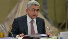 Սերժ Սարգսյանի ելույթը Սոչիում կայացած ԱՊՀ պետությունների ղեկավարների խորհրդի նիստում