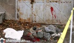 Սպանություն Լոռու մարզում. սպանվածը 30-ամյա տղամարդ է, իսկ 26-ամյա երիտասարդը գտնվում է անգիտակից վիճակում(տեսանյութ)