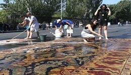 Շուրջ 5 միլիոն դրամ՝ Վարդավառի օրը Բաղրամյան պողոտայում գորգ լվանալու համար