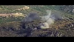 Ինչպես է հայկական ԶՈւ–ն ոչնչացնում ադրբեջանական հենակետերը. ՊՆ–ն տեսանյութ է հրապարակե