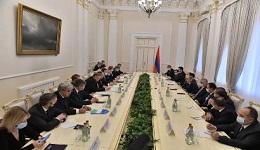 ՌԴ-ն վերահաստատում է աջակցությունը եղբայրական հայ ժողովրդին. վարչապետն ընդունել է ՌԴ կառավարական պատվիրակությանը