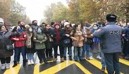 Փաշինյանի հրաժարականի պահանջով անհնազանդության ակցիաներ Երևանում․ ուղիղ