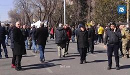 Փաշինյանի հրաժարականի պահանջով ակցիայի մասնակիցները երթով շարժվում են ՀՀ նախագահի նստավայր (ուղիղ)