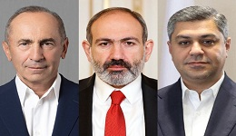 «Հայաստան» դաշինքի օգտին կքվեարկեն ընտրողների 24.1%-ը, ՔՊ-ի օգտին՝ 23.8,%-ը, «Պատիվ ունեմ»-ի օգտին՝ 7.4%-ը.ըստ Գելափի՝ ընդդիմությունը հաղթում է իշխանությանը
