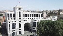 Ադրբեջանի գործողություններին հասցեական գնահատականը կնպաստի ստեղծված պայթունավտանգ իրավիճակի հաղթահարմանը.ՀՀ ԱԳՆ